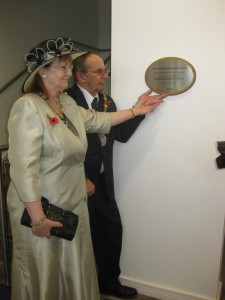 The Mayor of Hyndburn Cllr Malcolm Prichard Opening the Building in 2010